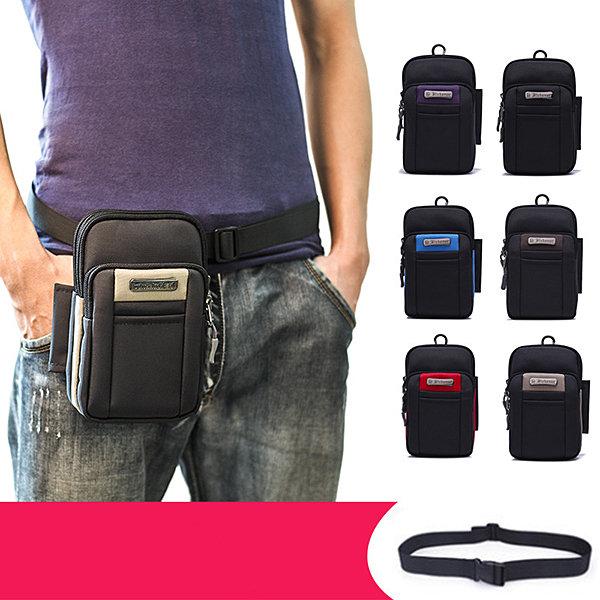 Multifunctional 6.5in Mini Outdoor Cellphone Waist Bag Outdoor Sport Crossbody Bag