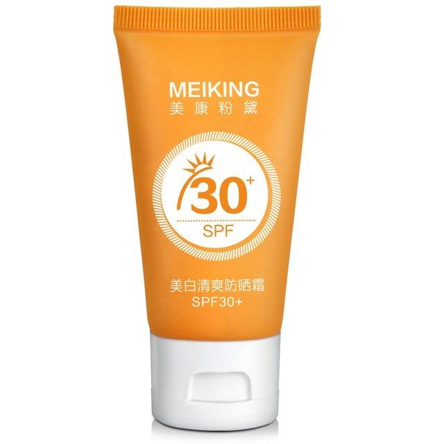 MEIKING Sunscreen Cream Moisturizing Whitening SPF30 UV Sunblock Body Concealer Summer