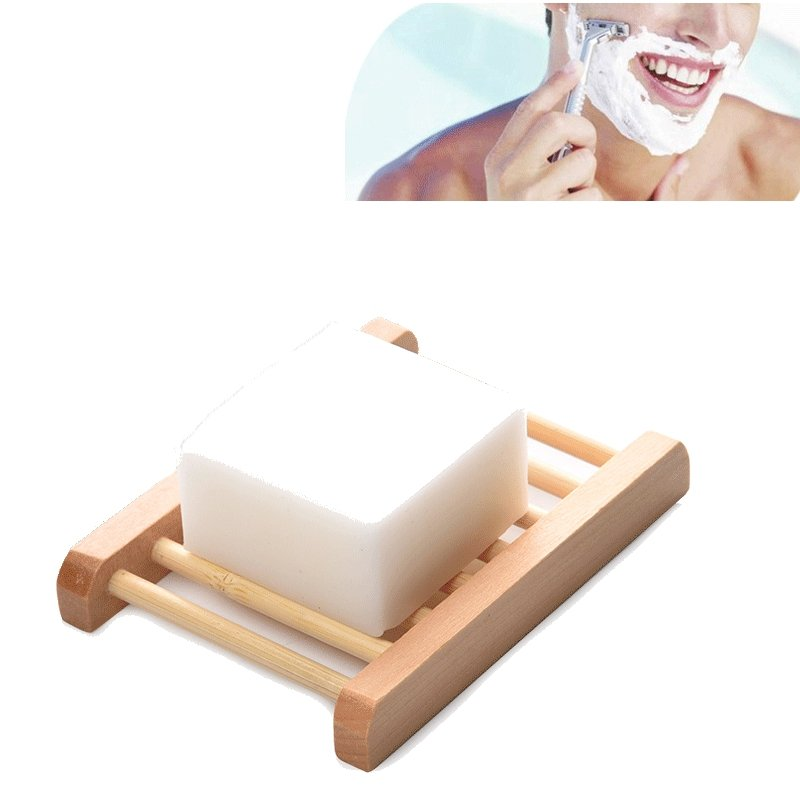 Shaving Foam Soap Non-irritant Rich Lather Cleaning Coconut Palm Essence