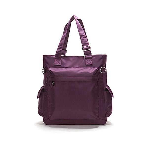 Women Casual Nylon Waterproof Handbag Shopping Shoulder Bag Large Capacity Bag
