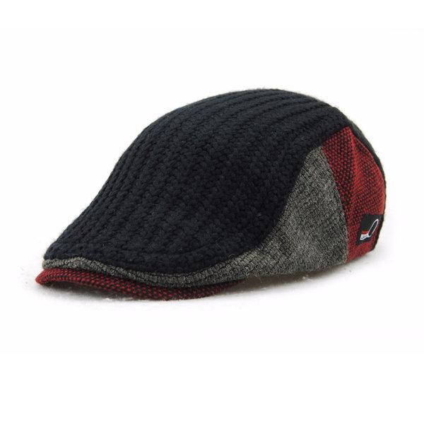 Men Women Wool Newsboy Beret Caps Casual Outdoors Peaked Hat