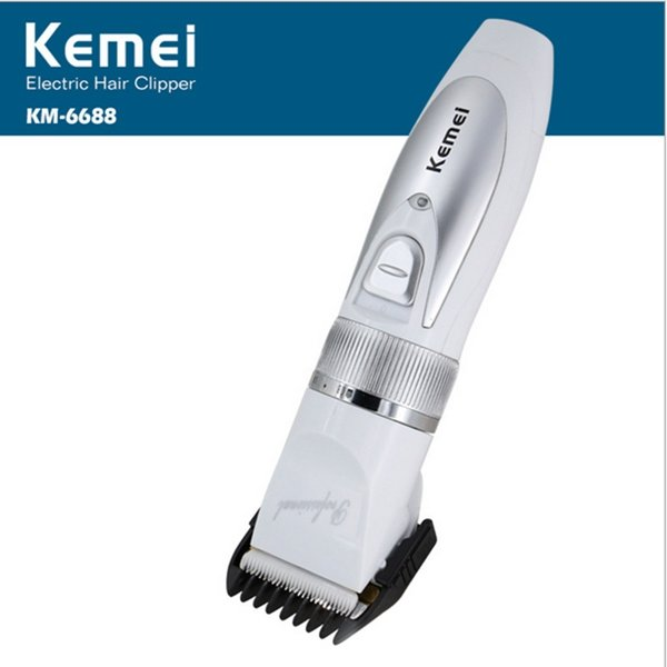 KM-6688 Electric Mute Hair Trimmer Clipper Rechargeable Haircut