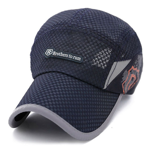 Men Women Breathable Mesh Baseball Cap Sun Visor Hat