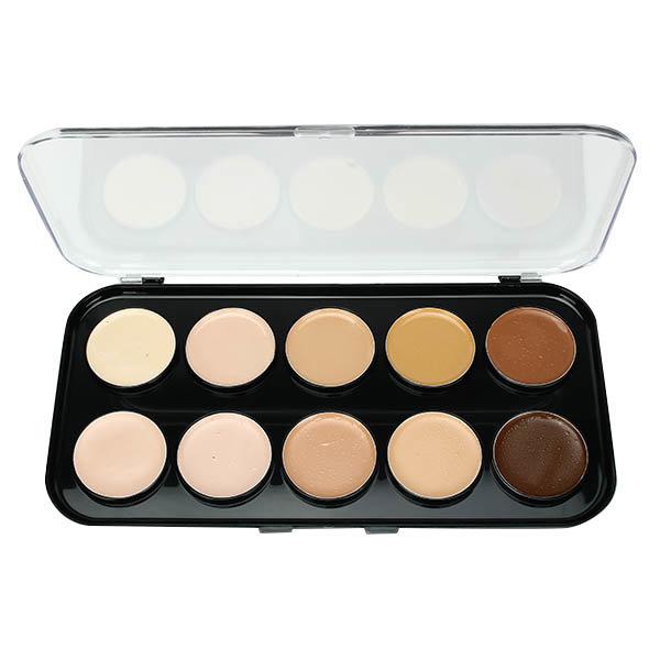 10 Colors Face Concealer Palette Facial Makeup Cosmetic