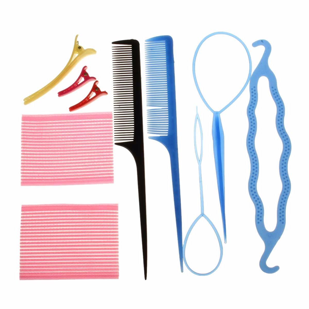 Lady Hair Twist Styling Clip Stick Bun Maker Braid Accessories Tool