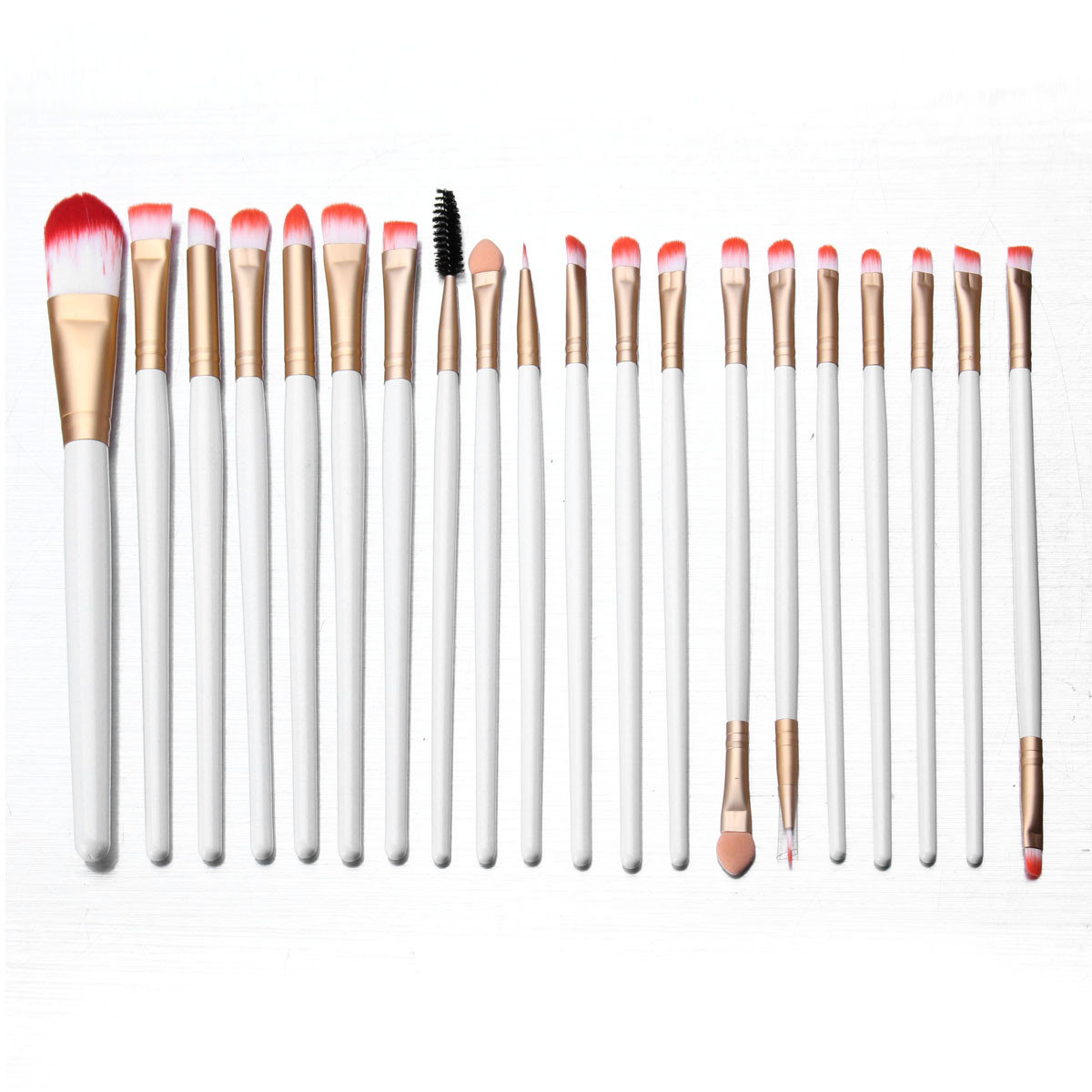 20 Pcs Professional Makeup Brushes Set Eye Shadow Eyeliner Lip Comestic Tool Kit