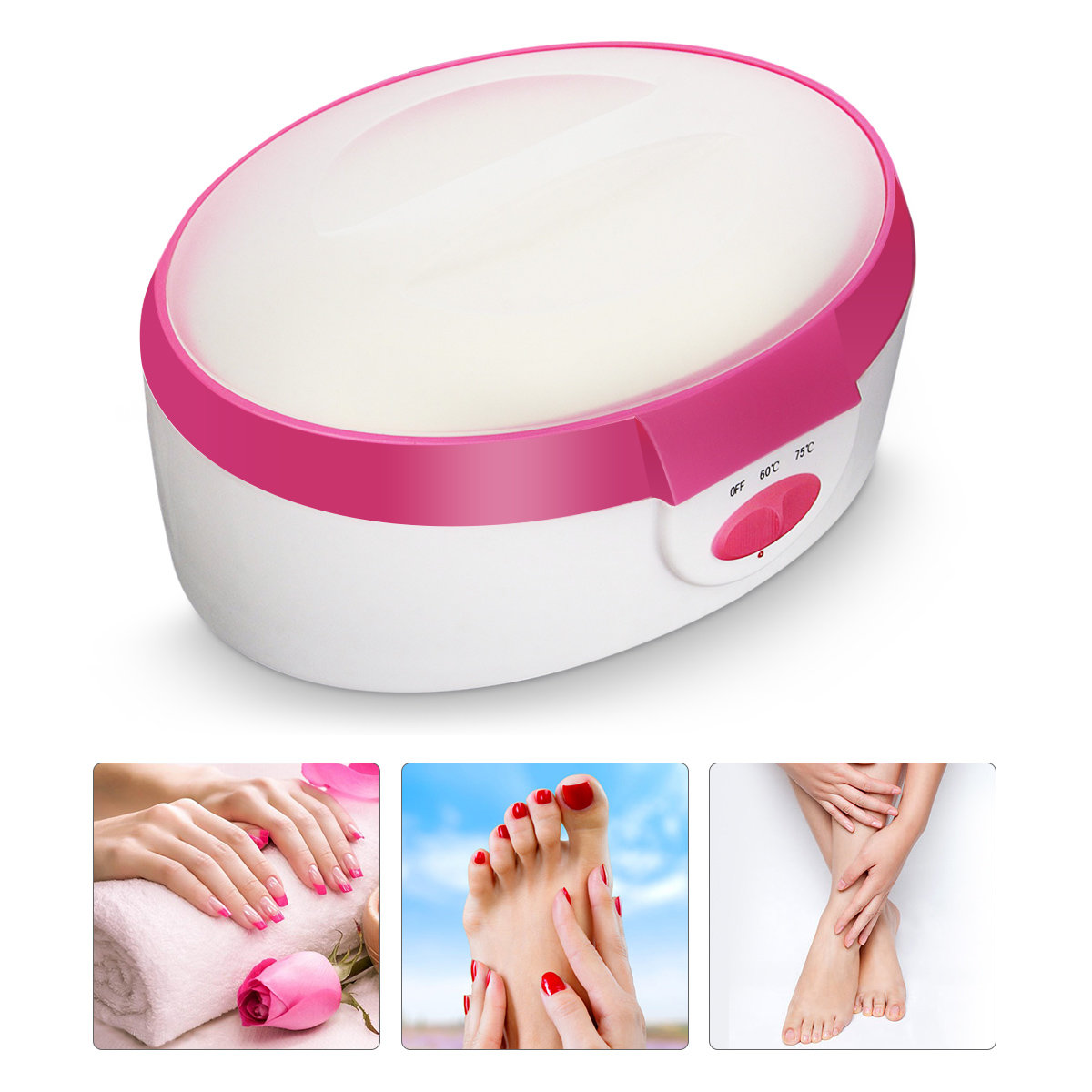 110V -120V Paraffin Wax Therapy Treatment Machine Heating Warmer Hand Foot Skin Care Spa US Plug