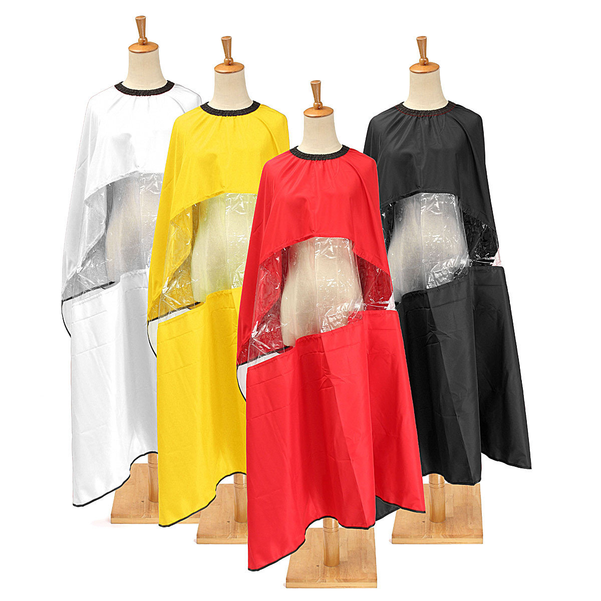 Adjustable Waterproof Cape Gown Viewing Salon Barber Coloring Hairdressing Hair Cut