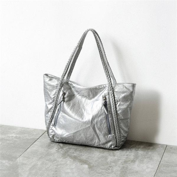 Женщины ретро вскользь Rivet Кожа PU плеча сумки сумки
