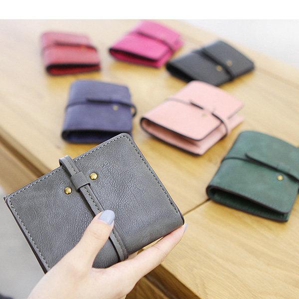 Women PU Clutches Bag Wristlet Wallet Travel Passport Wallet