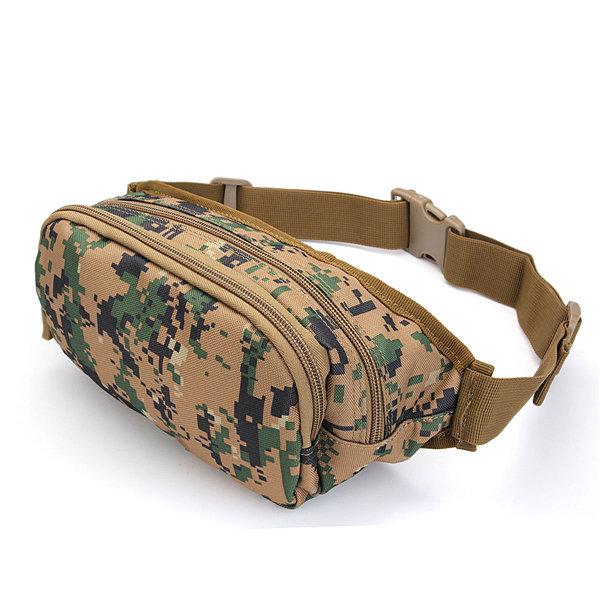 Waterproof Nylon Outdoor Sports Waist Bag Travel Tactical Bags