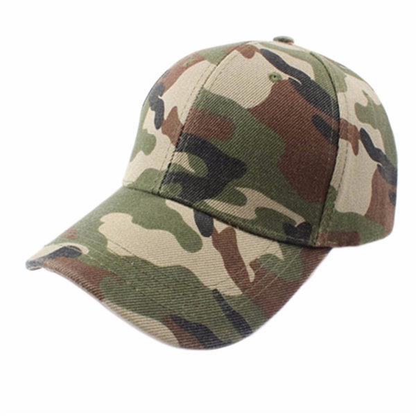 Мужчины Женщины Регулируемая Военные Охота Рыбалка Hat Army Бейсбол Открытый Cap