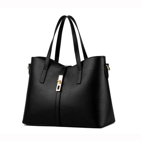 Ladies Elegant Casual Zipper Handbag Women Leisure Shopping Party Shoulder Bag Candy Color Bag