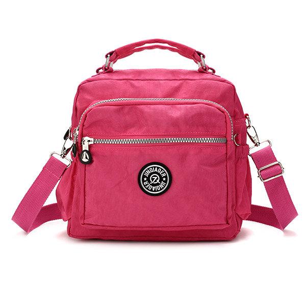 Women Nylon Waterproof Hobo Casual Handbag Shoulder Bag