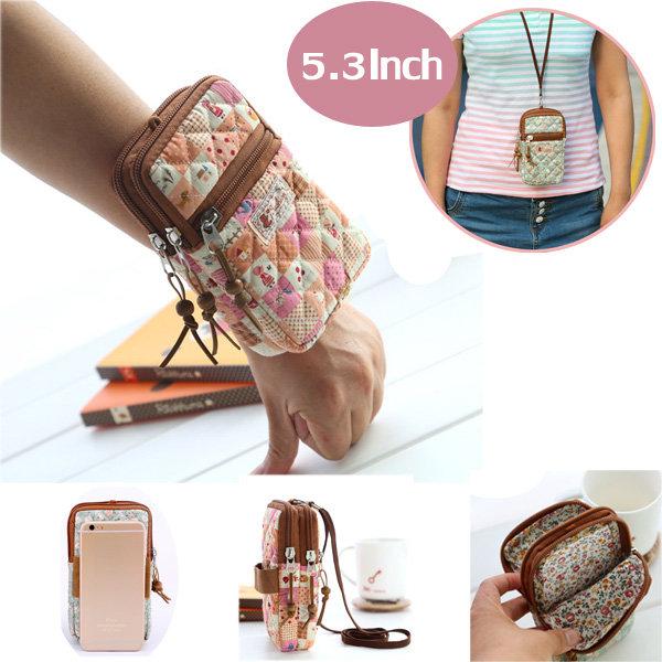 Женщина Многофункциональный телефон сумка телефон кошелек кошелек Маленькая Crossbody сумка