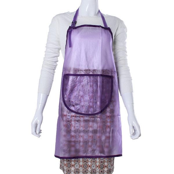 Прозрачный водонепроницаемый краска для волос салон Маникюры Cooking Фартук
