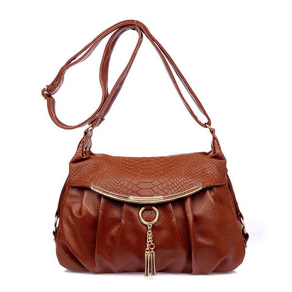 Elegant Crocodile Pattern Shoulder Bags Ladies Elegant Crossbody Bags For Women