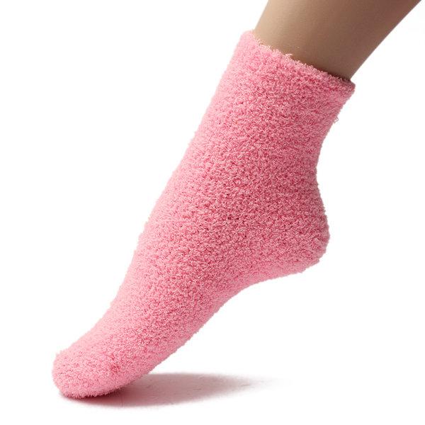 Pure Color Keep Warm Ankle Socks