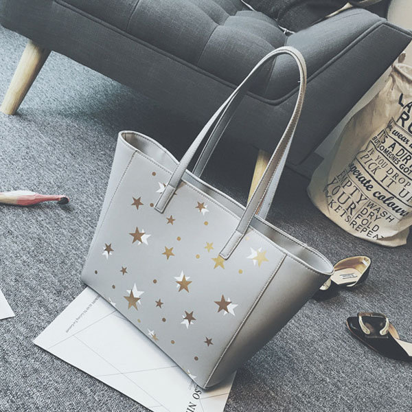 PU Leather Women Handbag Square Casual Tote Bag Big Capacity Women Bag