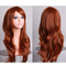 70cm Womens Long Cosplay Wigs Party Curly Wavy Anime Hair