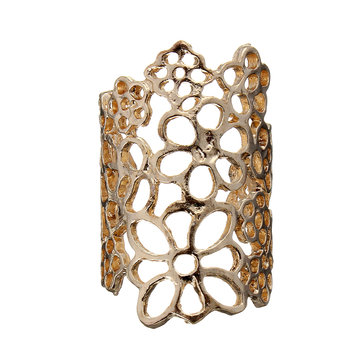 Lace Flower Hollow Out Open Finger Ring от Newchic.com INT