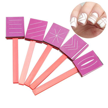 Buy 3D Magnetic Nail Polish Glue Sticky Rubber Magnet Plate Manicure Tools