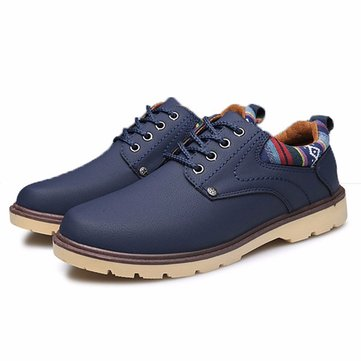 Buy British Style Breathable Recreational Casual Lace Oxford Shoes