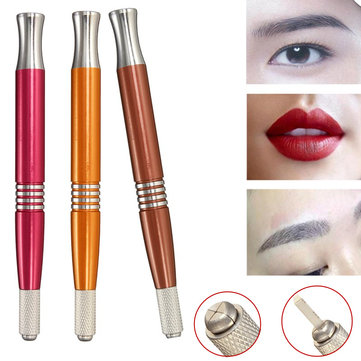 Buy Double-heads Embroidered Tattoo Eyebrow Pencil Pen Semi-permanent Makeup Tools