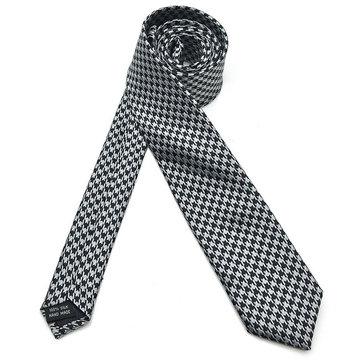 Buy Pensee Silk Skinny Jacquard Woven Self Bowties Thin Stripe Polyester Neckties