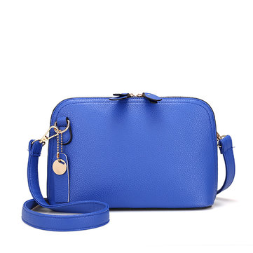 Women PU Leather High-end Shells Crossbody Bag Shoulder Bag