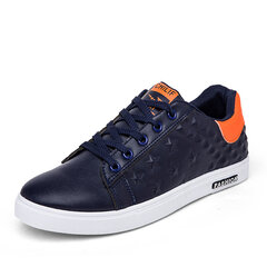 Star Pattern Color Match Casual Lace Up  Athletic Sport Shoes