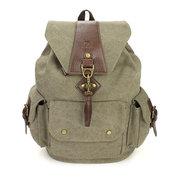 Women Men Versatile Canvas Casaul Backapck Vintage Outdoor Travel Bags