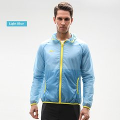 Mens Outdoor Ultra-thin Sun UV Protection Hiking Summer Breathable Windbreaker Quick Dry Jacket