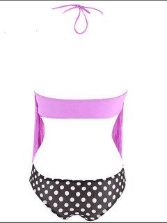 Женщины Sexy кисточки Холтер Бикини наборы Triangle отпечатанных с низкой талией Купальник