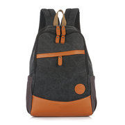 14inch Laptop Backpack Men Women Casual Canvas Backpack Outdoor Travel Backpack