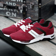 Men Shoes Cotton Blend Lace Up Outdoor Sport Running Sneakers