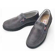 Men Casual Shoes PU Round Toe Slip On Outdoor Oxfords Low Top