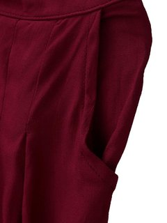Women Stretch High Waist Palazzo Pure Color Loose Pants