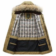 Winter Big Down Thick Warm Windproof Jackt Furred Hooded Long Coat
