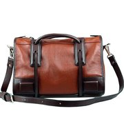 Women Vintage Motorcycle PU Leather Handbag