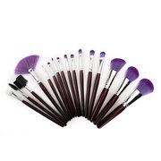 16 Pcs Professional Makeup Brushes Set Soft Foundation Eyeshadow Eyeliner Lip Brushes