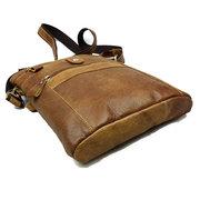 Mans Оригинальные кожаные сумки коровьей кожаный портфель Messengers Сумки Sling Сумки