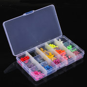 15 Grids Plastic Storage Box Adjustable Detachable Nail Tip Gems Little Stuff