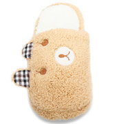 Women And Men Bear Slippers Warm Soft Home Shoes