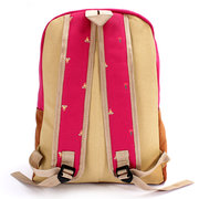 New Stylish Woman Canvas Backpack