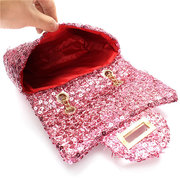 Women Fashion Sequined Sparkling Clutches Bag