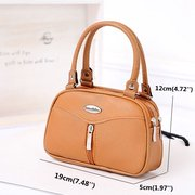 Women Classic Elegant Handbag PU Clutches Bag Evening Bag Shopping Bag
