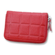 Genuine Leather 20 Card Slots Card Holders Coins Bags Purse For Women