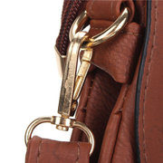 Retro Women Hollow Out Leather Crossbody Bag