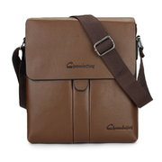 Men Business PU Casual Ipad Shoulder Bags Crossbody Messenger Bag Briefcase